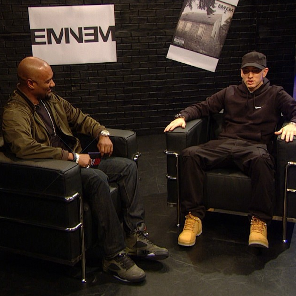 Eminem And Slaughterhouse Appear On BET 'Rap City' Special